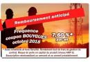 Remboursement CAPITAL + COUPON de 7,60 %* (brut) Fréquence BOUYGUES octobre 2018