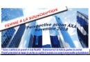 Logo SPIRICA : Perspective Action AXA novembre 2018