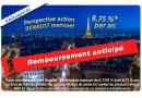 Logo APICIL - Perspective action RENAULT mensuel - Remboursé
